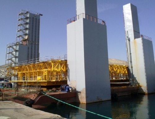 Floating Concrete Production Unit